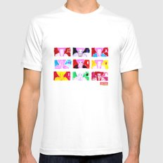 Marie A. Mens Fitted Tee White MEDIUM