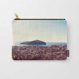 View over Dubrovnik Croatia Carry-All Pouch