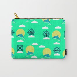 Dolphins play Carry-All Pouch