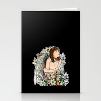devil Stationery Cards featuring Devil by Benimarudo