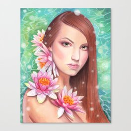 Aqueous Canvas Print