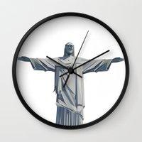 rio Wall Clocks featuring RIO by burga