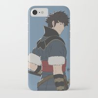 fire emblem iPhone & iPod Cases featuring Lon'Qu - Fire Emblem Awakening  by MKwon