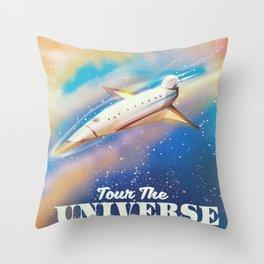 TOUR THE UNIVERSE Throw Pillow