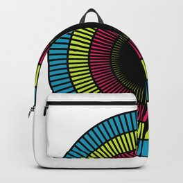 Colorful illusions Backpack