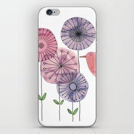 "Birdy ""Speak to me!"" iPhone Skin"