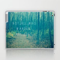 Wander in the Woods Laptop & iPad Skin