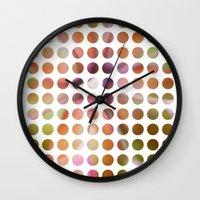 dot Wall Clocks featuring Dot by Jeanette Nilssen