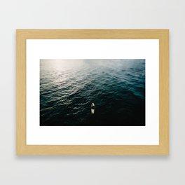 Sole Surfing Framed Art Print