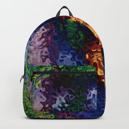 Light Starry Night  (Rose Abstract) Backpack
