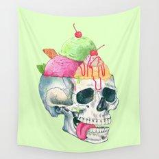 brain freeze Wall Tapestry