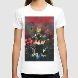 Emotional Abstract Artwork with Dark Colors T-shirt