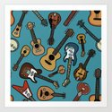 Guitars by mariozuccaillustration