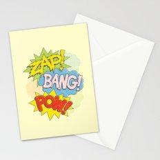 Zap! Bang! Pow! Stationery Cards