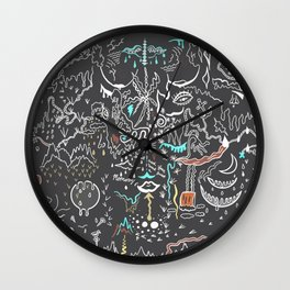When We Were Small, And Fear Was Just a Memory. Wall Clock