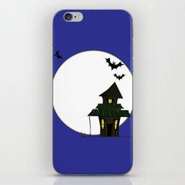 Halloween Cottoge iPhone Skin