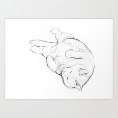 Cat I / Chat I / Gato I Art Print