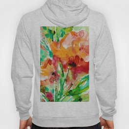 Blooming Joy No.1a by Kathy Morton Stanion Hoody