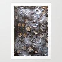 OIL DIGGER Art Print