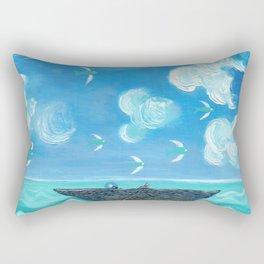 Adrift Rectangular Pillow