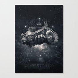 A Piece Of Universe Canvas Print