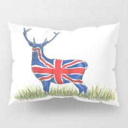 BRITISH Red Deer Pillow Sham