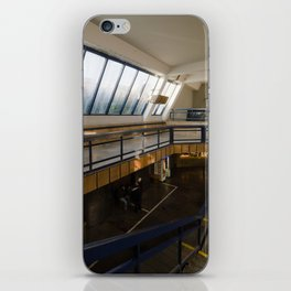 Prague - SpaceStation (Metro station|Vltavska) iPhone Skin