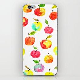 Spring apples iPhone Skin