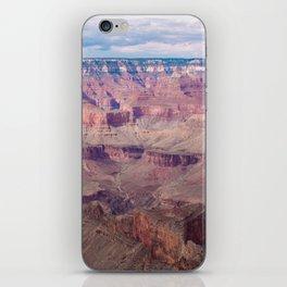 Grand Canyon | Nature Landscape Photography of Natural Layered Rock at Grand Canyon Arizona iPhone Skin