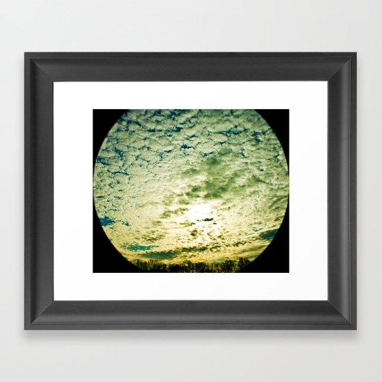 Space Telescope  Framed Art Print