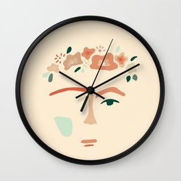 inspired by frida Wall Clock