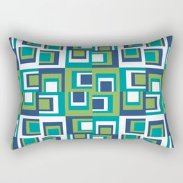 Pantone Greenery Uneven Rectangular Pillow