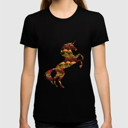 Junk Food Unicorn Unhealthy Foods Magical Unicorn T-shirt