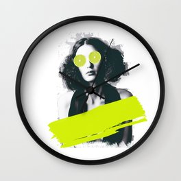 Sour Vision Wall Clock