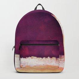 Maroon Ocean Backpack