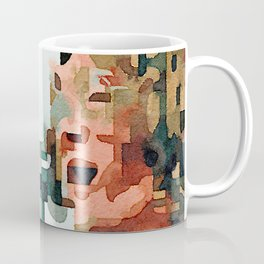 Fab Four (John) Abstract Watercolor Painting Coffee Mug