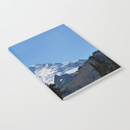 Snow Cap on the Mountain Notebook
