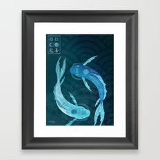 Original Bending Masters Series: Tui and La Framed Art Print