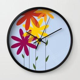 flowers 1-01 Wall Clock