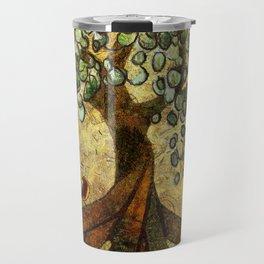 Twisted Oak Tree Travel Mug