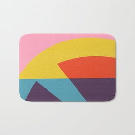 Pink Cocktail Bath Mat