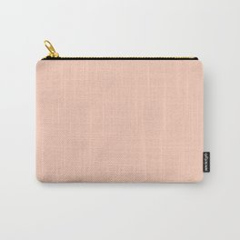 Pale Peach Carry-All Pouch