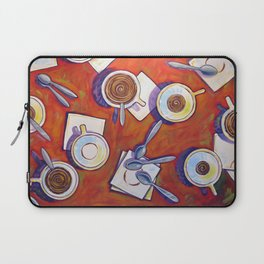 The Get Together ... Kitchen Coffee Cup Art Laptop Sleeve