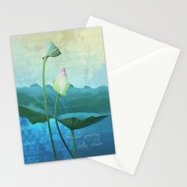 New Lotus Stationery Cards