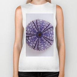 purple urchin I Biker Tank