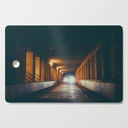 Milwaukee Bridge at Night Cutting Board
