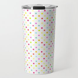 Polka Dot Pattern Travel Mug