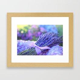 lavender #society6 #decor #buyart Framed Art Print