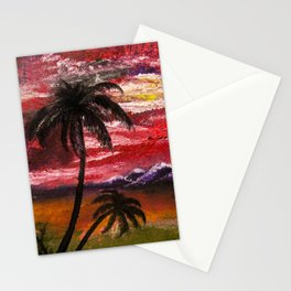 Finger Painting Stationery Cards