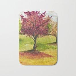 A little tree Bath Mat